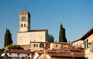 Barga - Barga Cathedral.