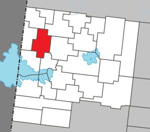 Dupuy, Quebec - Image: Dupuy Quebec location diagram