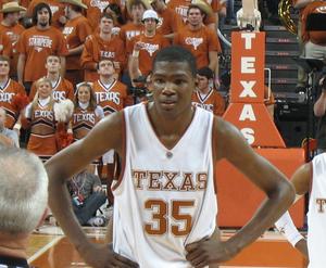 2007 Big 12 Men's Basketball Tournament - Tournament MVP Kevin Durant.