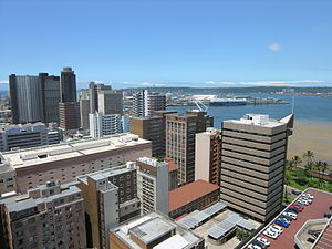 Durban - View of Durban harbor