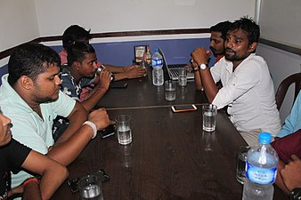During Promotion of Maithili Wikipedia Meetup (2).jpg
