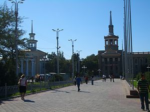 Chuy Prospekti - Image: E7880 Bishkek Chuy Ave