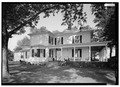 EAST SIDE - Ashleigh (Main House), Route 22 vicinity, Gordonsville, Orange County, VA HABS VA,55-GORD.V,1-2.tif