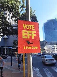 Political parties that contested the 2019 South African general election Parties that contested the 2019 South African general election