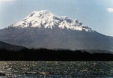 Der Chimborazo in Ecuador (Quelle: Wikimedia)