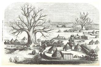 Kordofan - Image: ESCAYRAC(1853) p 416 Planche VII