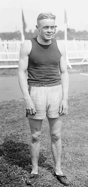 Earl Eby - Earl Eby at the 1919 Inter-Allied Games