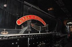 Earl of Berkeley in Sheffield Park locomotive shed (2368).jpg