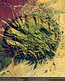 Earth from Space Brandberg Mountain, Namib Desert, Namibia (29005898910).jpg