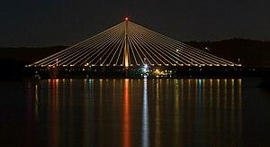 East End Bridge at Night