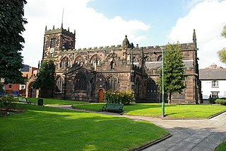 Church of St Mary the Virgin, Eccles Church in Greater Manchester, England