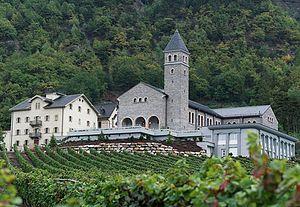 Society of Saint Pius X - The Society's first seminary, in Écône, Switzerland
