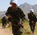 Ecuadorian Army soldier participates at a UN exercise.jpg