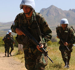 Ecuadorian Army soldier participates at a UN exercise.jpg