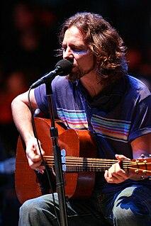 Eddie Vedder American musician, songwriter, member of Pearl Jam
