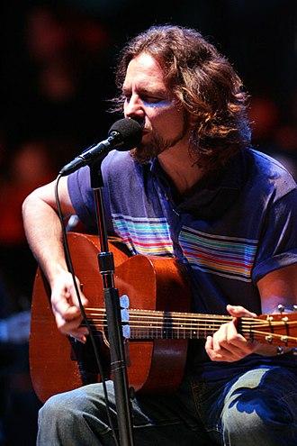 Eddie Vedder - Vedder in October 2006