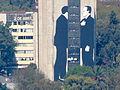 Edificio de Tlatelolco desde la Torre Latinoamericana.JPG