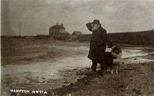 Edmund Reid - Edmund Reid at Hampton-on-Sea, by Fred C. Palmer, 1912
