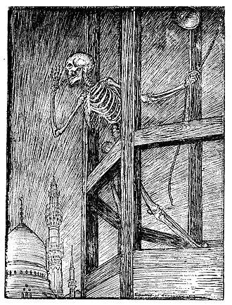 E. J. Sullivan - Sullivan's illustration for Quatrain 24 of Edward Fitzgerard's First Version of the Rubaiyat of Omar Khayyam.