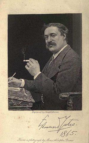 Edmund Yates - Edmund Yates, 1865