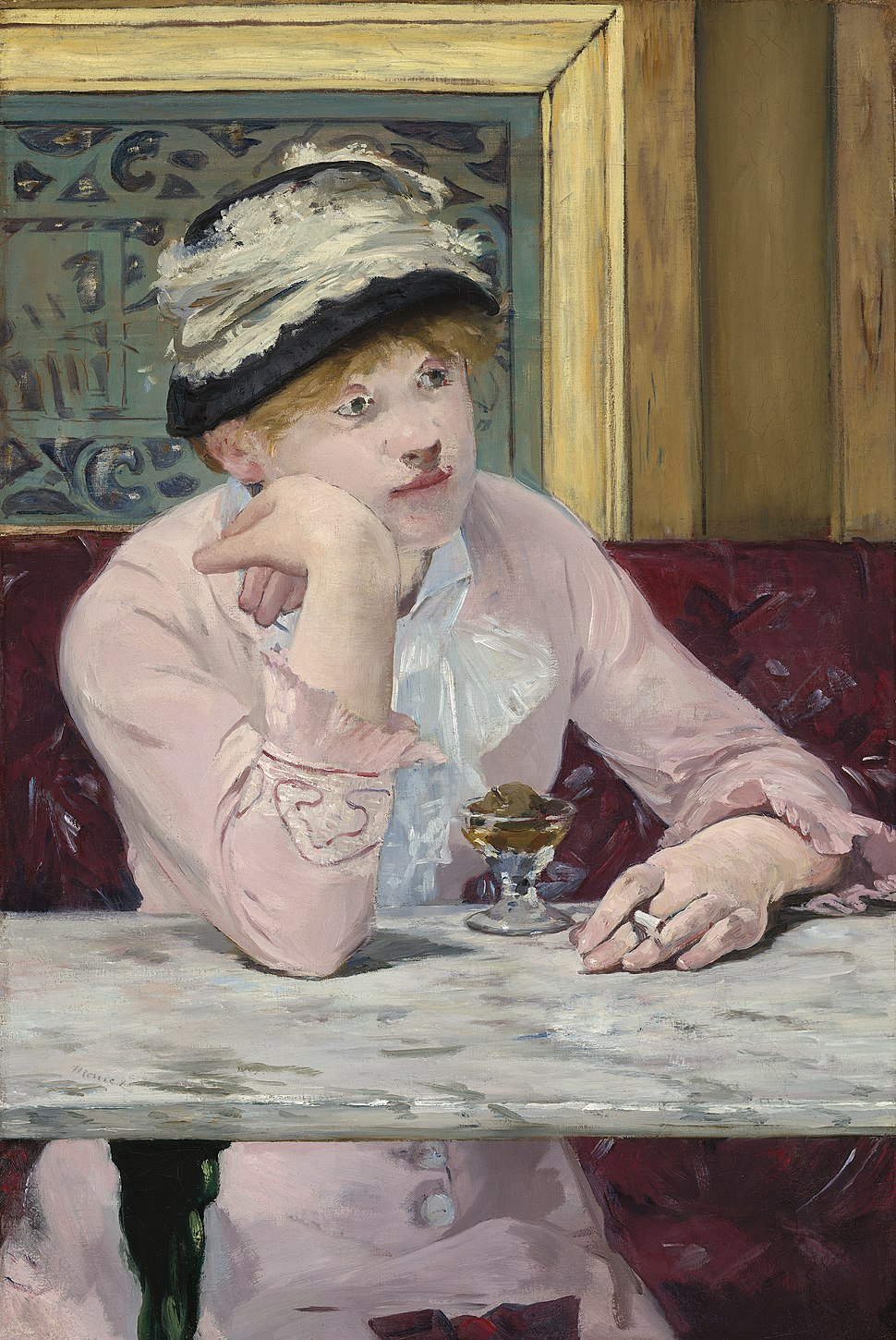 Edouard Manet - The Plum - National Gallery of Art