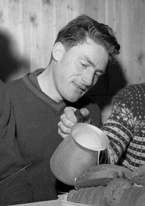Edvin Landsem - Landsem in 1955