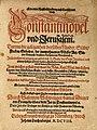 Ein newe Reyßbeschreibung - Salomon Schweigger (1608).jpg