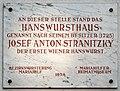 Einstein-Hof, Vienna - plaque Josef Anton Stranitzky.jpg