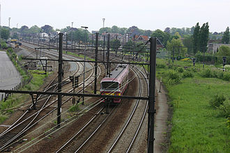 Iron Rhine - Iron Rhine in Belgium by Lier