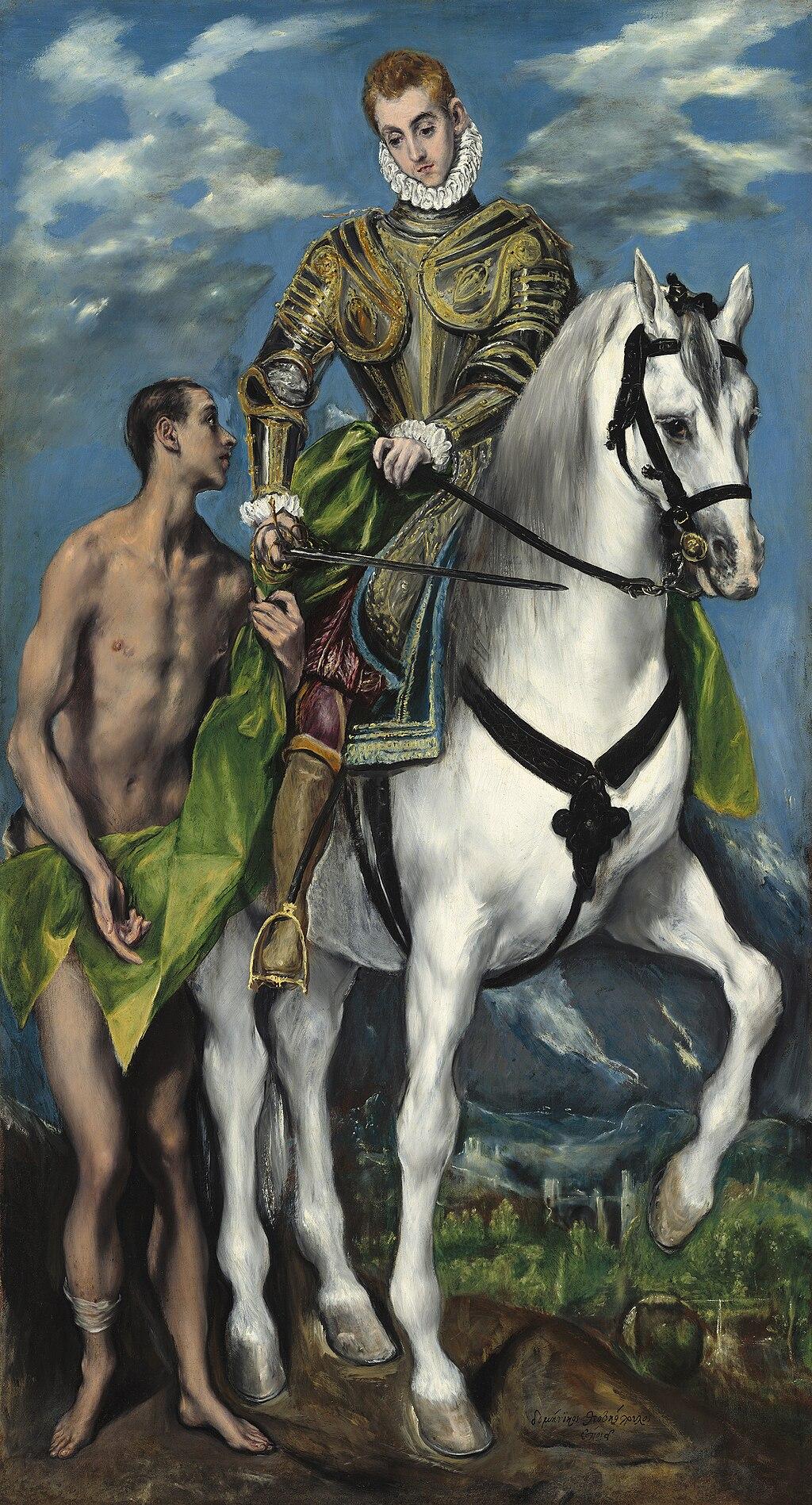 El Greco - San Martín y el mendigo