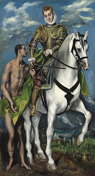 File:El Greco - San Martín y el mendigo.jpg