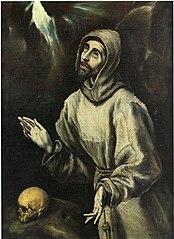 Stigmatisation des Hl. Franz von Assisi