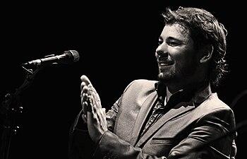 El cantaor Miguel Poveda en escena