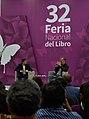 El escritor Juan Villoro durante su participación en la 32 Feria Nacional del Libro Buap.jpg