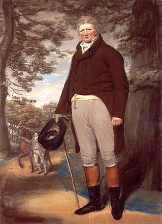 Eleazer Pickwick - Pickwick c.1803 by John Sanders