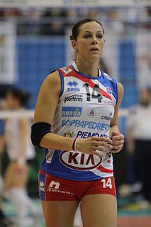 Eleonora Lo Bianco Italian volleyball player