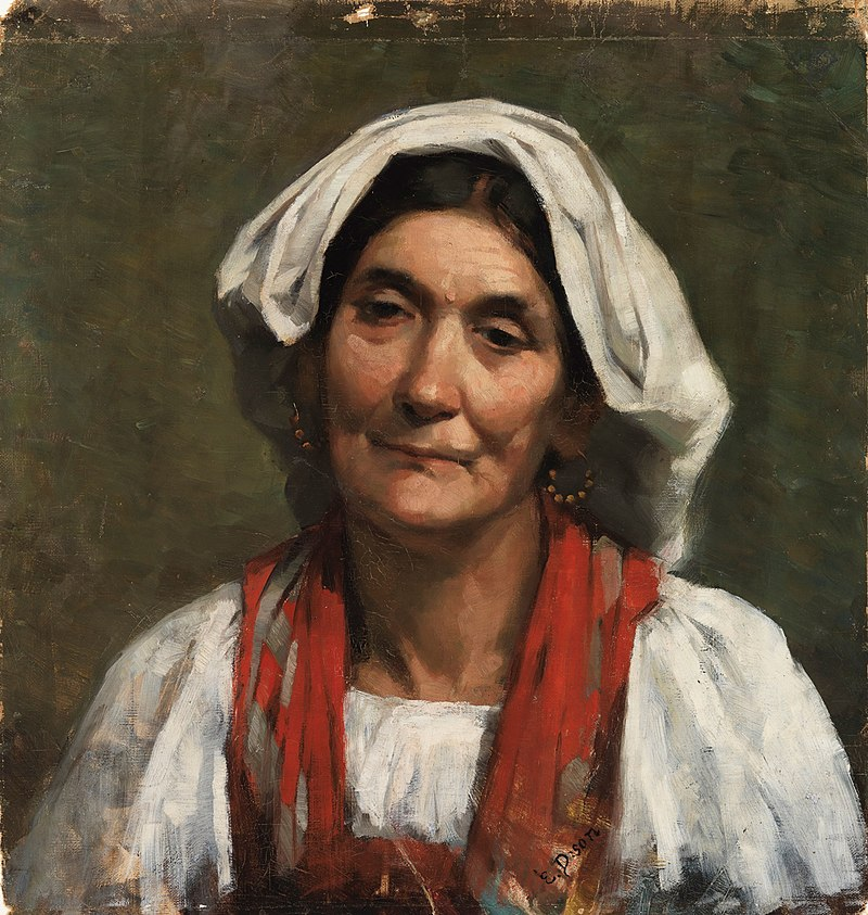 Elin Danielson-Gambogi - Old Provençal Woman - A V 4632 - Finnish National Gallery.jpg