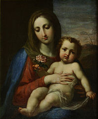 Saint mary with Jesus