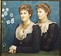 Elsa and Mary Bell (The late Lady Trevelyan), 1899 by Lady Caroline Grosvenor.jpg