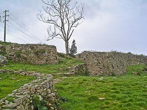 A Coruña - Castro de Elviña: remnant of a Celtic military structure in A Coruña.