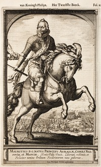 Maurice on Horseback