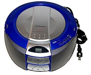 Emerson Radio - Image: Emerson AM FM Stereo Radio CD player