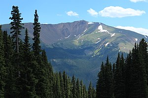 Engelmann Peak - Engelmann Peak viewed from Berthoud Pass