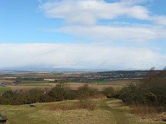 Kinnoull Hill - Image: England and Scotland 152