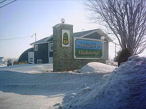 Maskinongé, Quebec - Image: Entrée Maskinongé