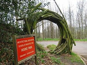 Hooke Park - Entrance to Hooke Park