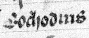Eochaid, son of Rhun - Image: Eochaid, son of Rhun (Lat. 4126, folio 29r)