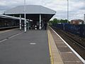 Epsom station platform 1 look north2.JPG