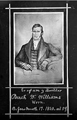 Er cof am y diweddar Barch W Williams Wern..