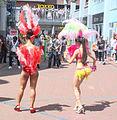 Er waren vier landen die aan het dansen waren in Spijkenisse.jpg